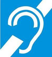 niesłyszący ikona